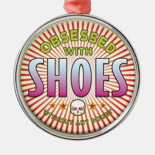 Los zapatos obsesionaron R Adorno De Navidad