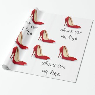 Los zapatos son mi papel de embalaje de la vida