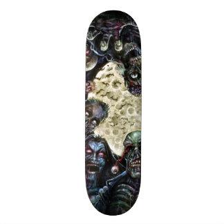 Los zombis atacan (la horda del zombi) patines personalizados