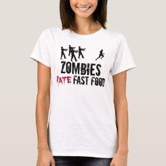 Los zombis de las mujeres odian la camiseta de los