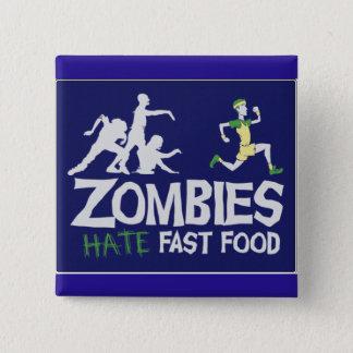 Los zombis odian los alimentos de preparación chapa cuadrada