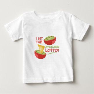 Loteria de Avacado Camiseta De Bebé