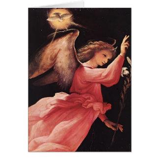 Loteria de Lorenzo el ángel del anuncio