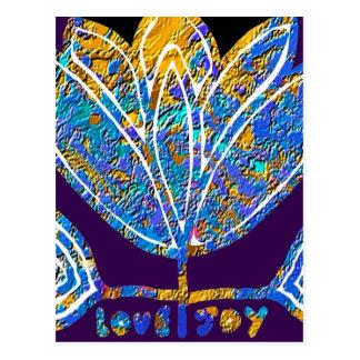 LOTUS - amor y alegría Postal