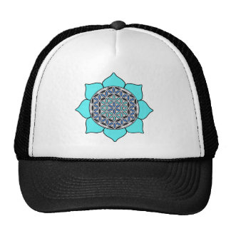 Lotus Blue2 Gorra