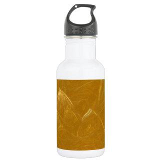 Lotus de oro grabó al agua fuerte el modelo barato botella de agua