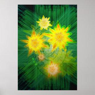 Lotus de oro póster