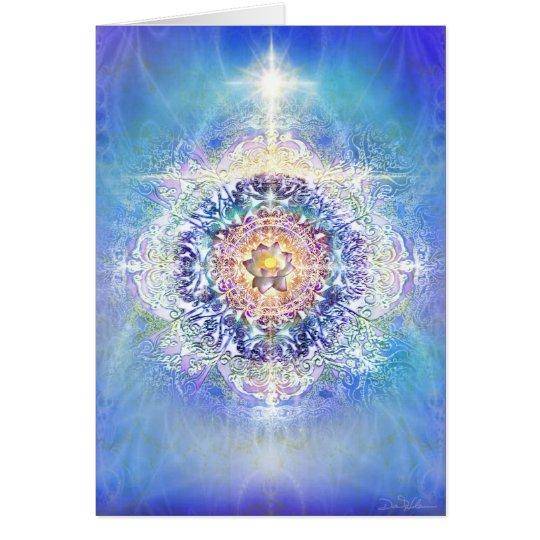 Lotus interno tarjeta de felicitación