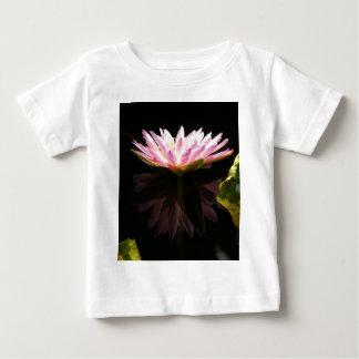 Lotus rosado Waterlily Camiseta De Bebé