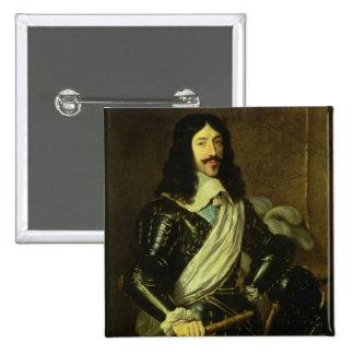Louis XIII (1601-43) (aceite en lona) Pins