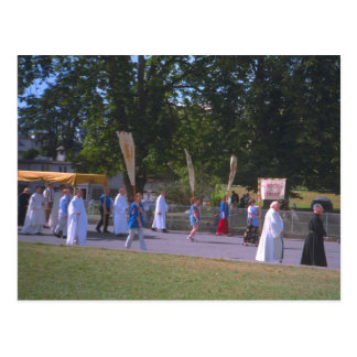Lourdes, procesión del sacramento bendecido tarjetas postales