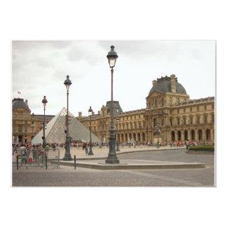Louvre. París, Francia Invitación 12,7 X 17,8 Cm
