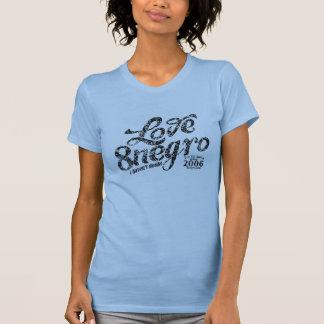 Love 8negro camisetas
