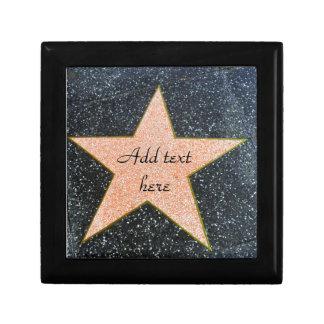 Love_ de la estrella caja de joyas