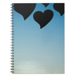 Love hearts shapes photograph romantic valentines libretas