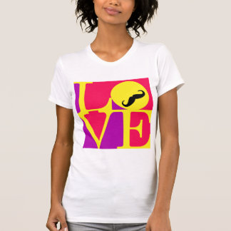 Love Moustache Fun T-Shirt