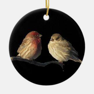 Lovebirds Adornos De Navidad