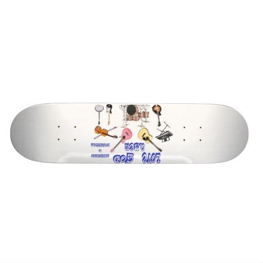 lovegodamenboard tabla de skate