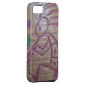 Loza de barro Kokopelli Funda Para iPhone SE/5/5s