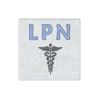 LPN cuida símbolo Imán De Piedra