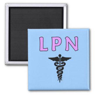 LPN médico Imán Cuadrado