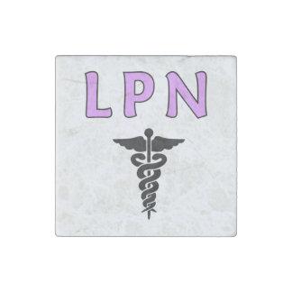 LPN médico Imán De Piedra