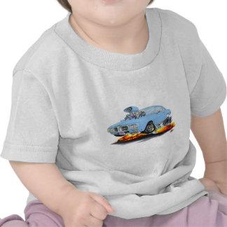 Lt 1969 de Firebird Blue Car Camisetas