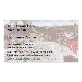 Lucas Cranach la anciano la fuente de la juventud Tarjeta De Visita