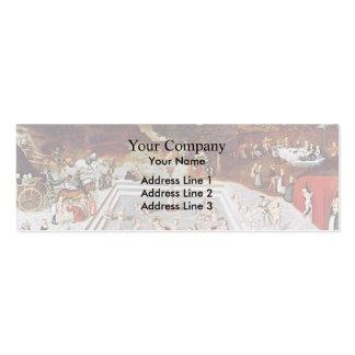 Lucas Cranach la anciano la fuente de la juventud Tarjetas De Visita Mini