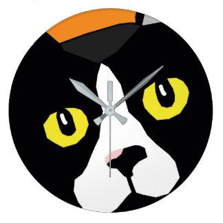 Lucas el reloj de pared del arte pop del extracto