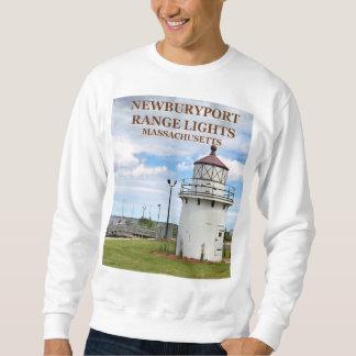 Luces de gama de Newburyport, camiseta del mA