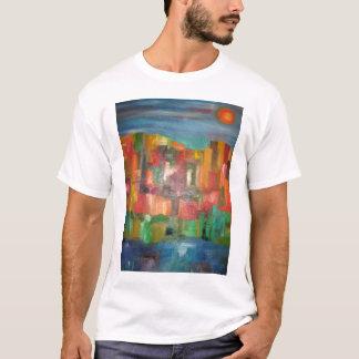 Luces de la ciudad camiseta