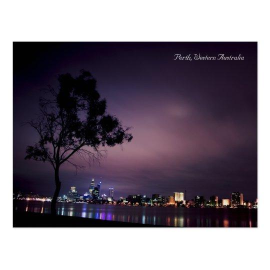Luces de la ciudad de Perth Postal