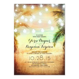 Compra tus invitaciones de boda con diseños de playa en la gran selección de Zazzle.
