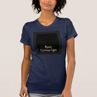 Luces de navidad de Amish Camiseta