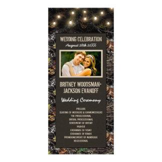 Luces de PhotoString + Programas del boda de Camo Lonas Publicitarias