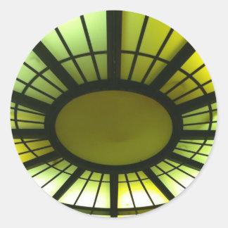 Luces de techo etiquetas redondas