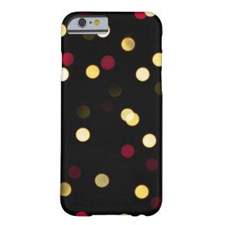 Luces nebulosas - caja del teléfono funda barely there iPhone 6