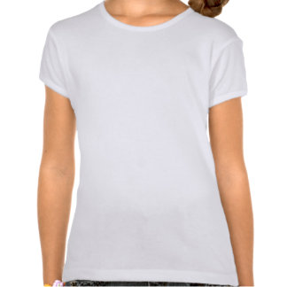 Lucha como una definición del chica - cáncer de camisas