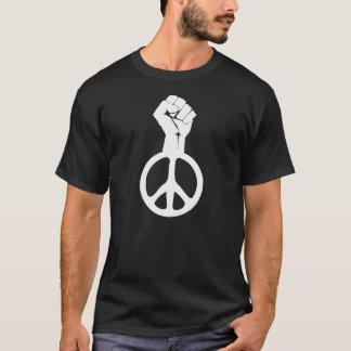Lucha de OWS la camisa de la paz del poder