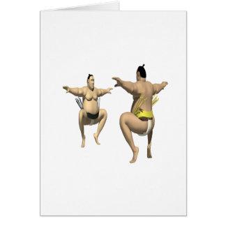 Lucha de sumo tarjeton