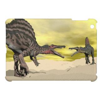 Lucha del dinosaurio de Spinosaurus - 3D rinden
