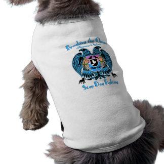 Lucha del perro de parada, perro americano de Terr Camiseta Sin Mangas Para Perro