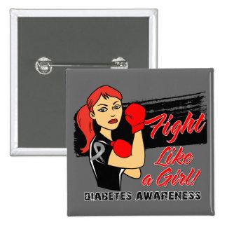 Lucha moderna como un chica - diabetes de Rosie Pins