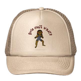 Lucha para mujer oscura gorra
