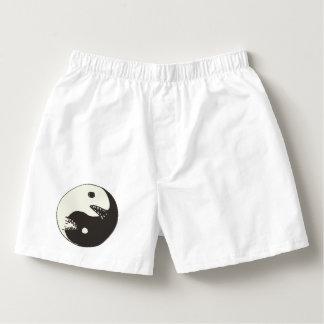 lucha sin fin de yang del yin sin texto calzoncillos