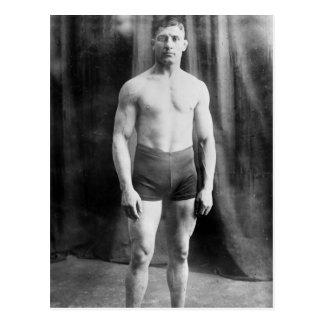 Luchador balcánico Yussif Hussane, 1915 Postal