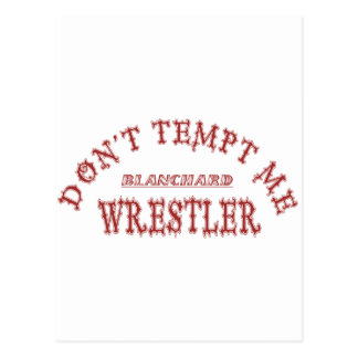 Luchador de Blanchard Postal
