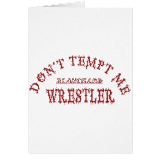 Luchador de Blanchard Tarjetas