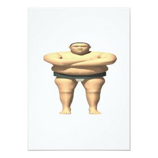 Luchador del sumo invitación